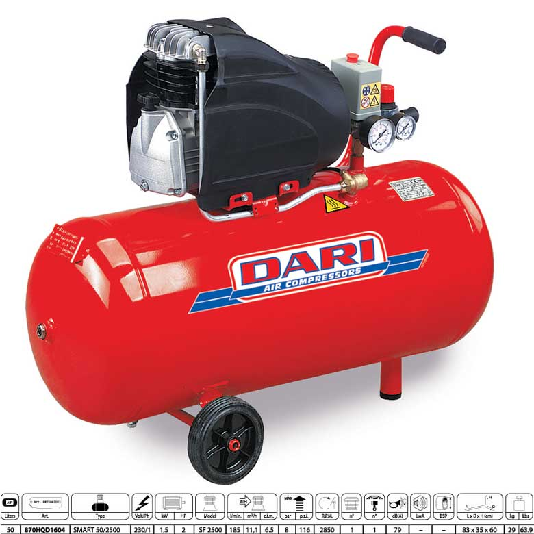 Compresseur compresseur dari 2hp 50 litres - Compresseur 50 litres ...